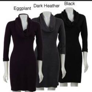 cowl neckline dress